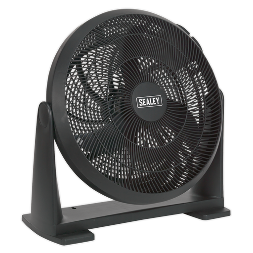 "Sealey - SFF16 Desk/Floor Fan 3-Speed 16"" 230V"