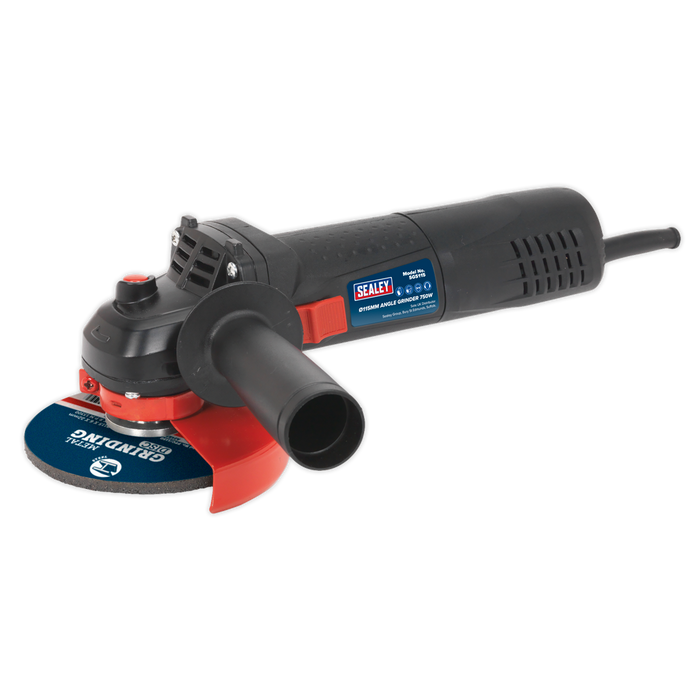 Sealey - SGS115 Angle Grinder Ø115mm 750W/230V Slim Body