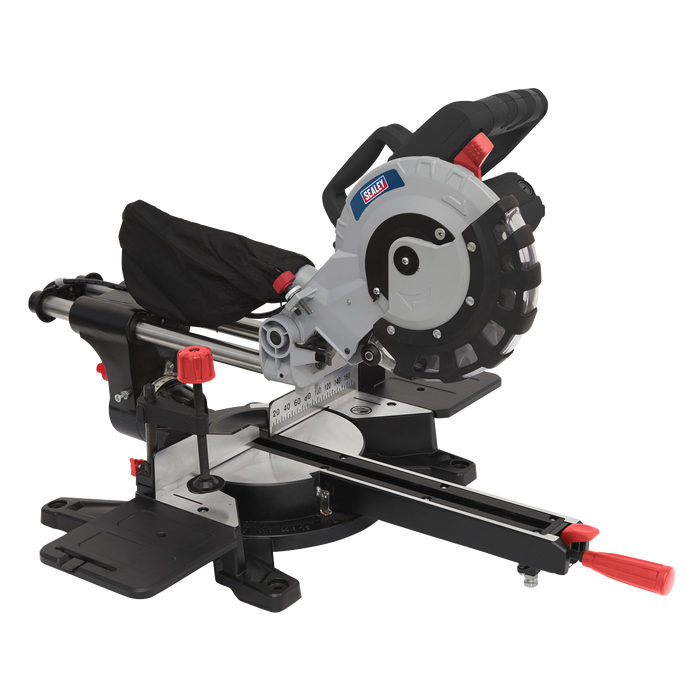 Sealey - SMS216 Double Sliding Compound Mitre Saw Ø216mm