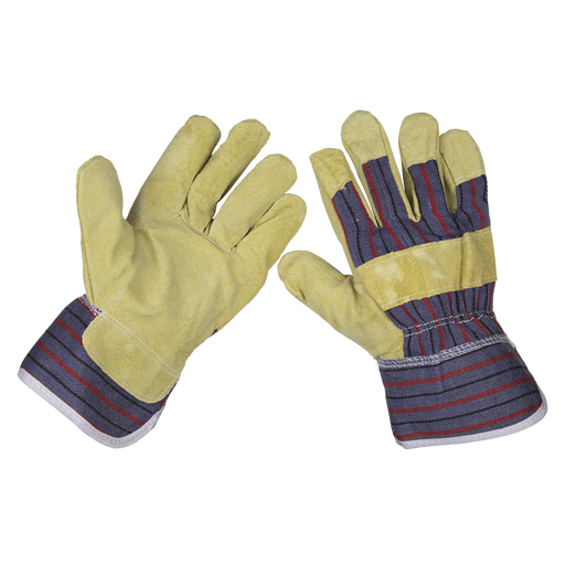 Sealey - SSP12 Rigger's Gloves Pair
