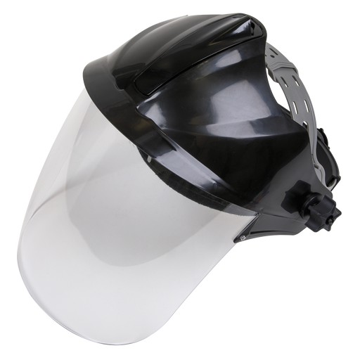 Sealey - SSP78 Deluxe Brow Guard with Aspherical Polycarbonate Full Face Shield