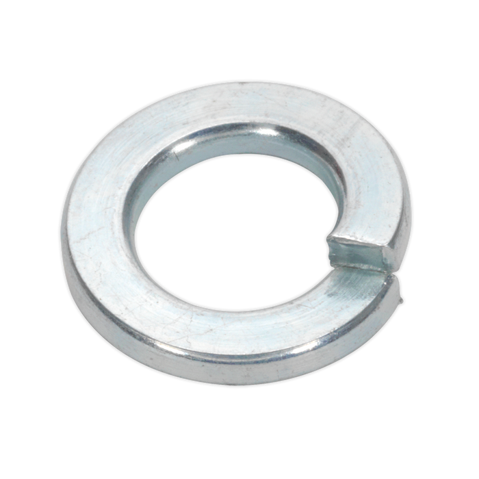 Sealey - SWM8 Spring Washer M8 Zinc DIN 127B Pack of 100