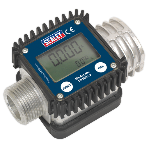 Sealey - TP101 Digital Diesel & Fluid Flow Meter