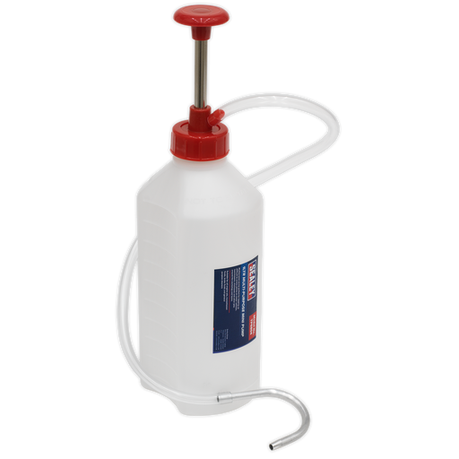 Sealey - TP6804 Multipurpose Mini Pump 1ltr