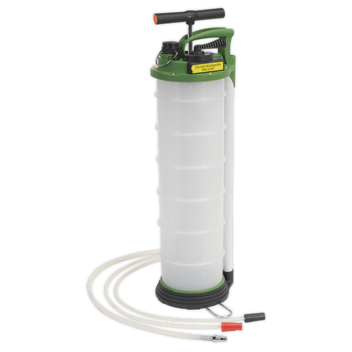 Sealey - TP6905 Vacuum Oil & Fluid Extractor & Discharge 6ltr