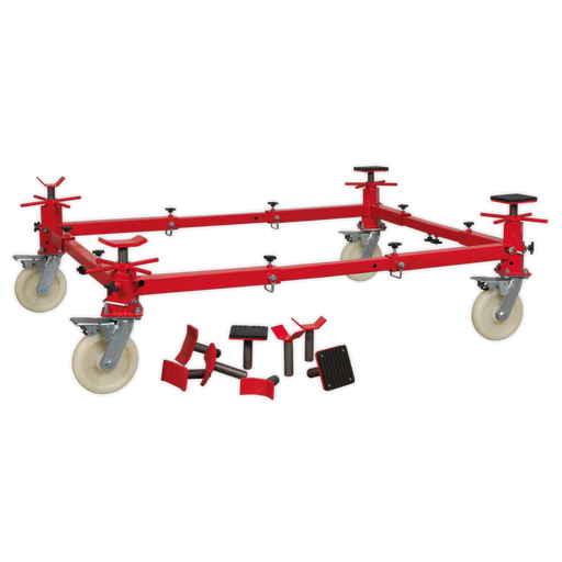 Sealey - VMD002 Vehicle Moving Dolly 4 Post 900kg