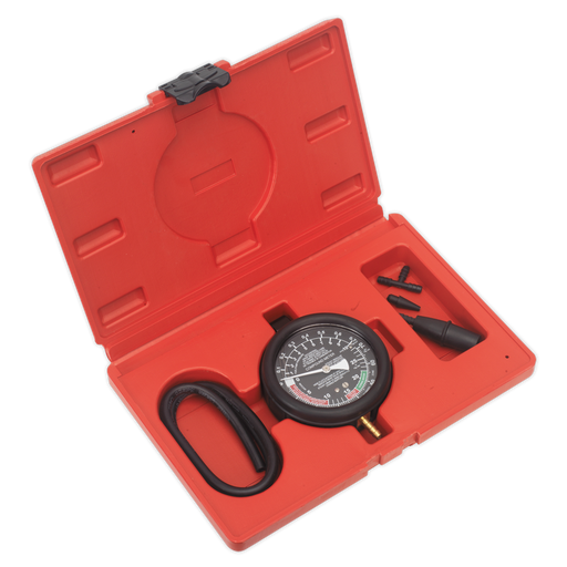 Sealey - VSE952 Vacuum & Fuel Pump Pressure Test Gauge Set