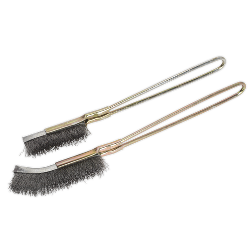 Sealey - WB06 Wire Brush Set 2pc