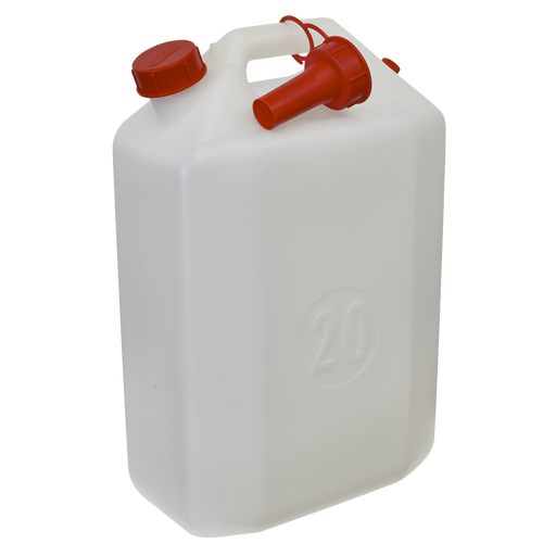 Sealey - WC20 Water Container 20ltr with Spout