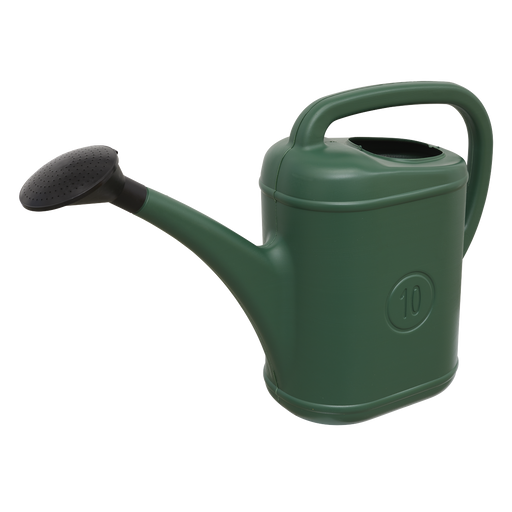Sealey - WCP10 Watering Can 10ltr Plastic (without Nozzle)