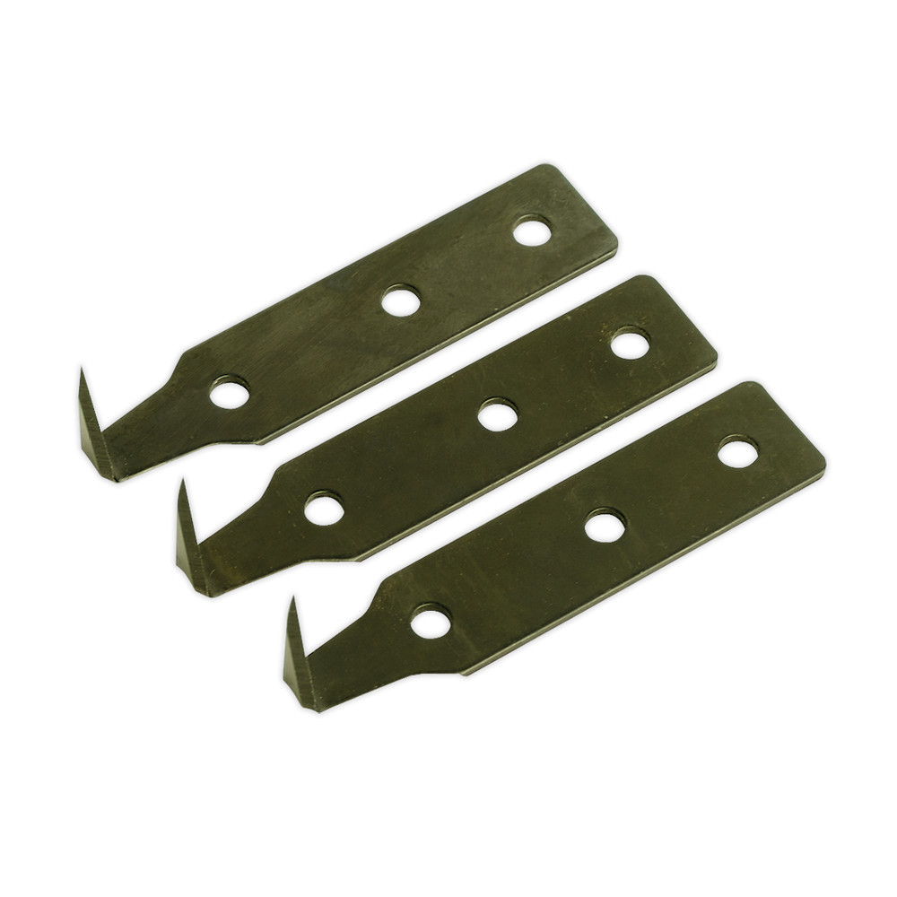 Sealey - WK02002 Windscreen Removal Tool Blade 25mm Pack of 3