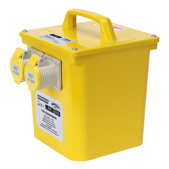Sealey - WST3000 Portable Transformer 3000VA