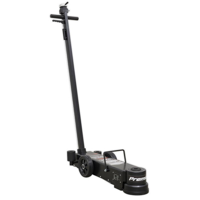 Sealey - YAJ15-30LE Air Operated Jack 15-30tonne Telescopic - Long Reach/Low Entry