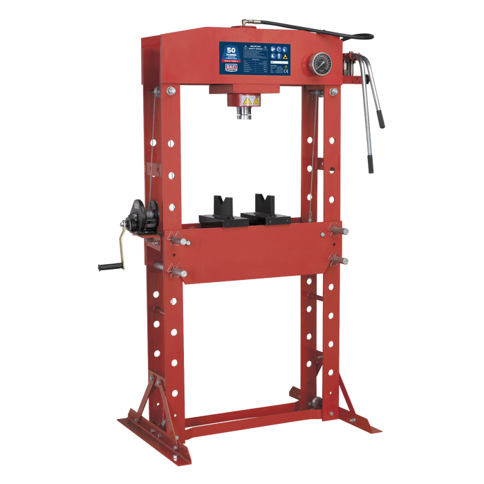 Sealey - YK509F Hydraulic Press 50tonne Floor Type