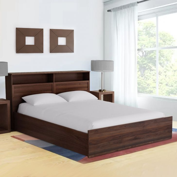 Bed in Wenge kleur