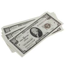 Load image into Gallery viewer, Series 1920s Vintage $10 Full Print Prop Money Stack - Prop Money