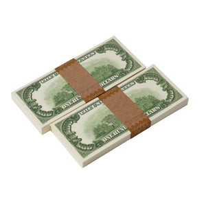 1980 Series $100s $20,000 Full Print Package - Prop Money
