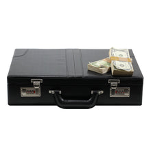 Load image into Gallery viewer, 1980s Series $500,000 Aged Blank Filler Briefcase - Prop Money