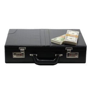 1980s Series $500,000 Blank Filler Prop Money Briefcase - Prop Money