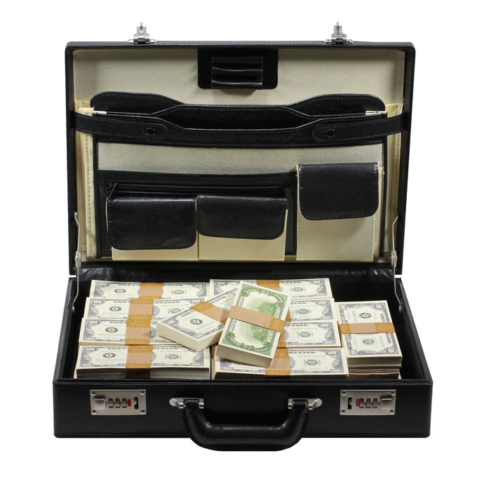 Series 1980s $500,000 Full Print Briefcase