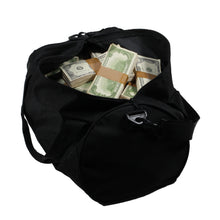 Load image into Gallery viewer, 1980 Series $500,000 Aged Blank Filler Duffel Bag - Prop Money