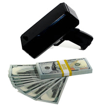 Load image into Gallery viewer, New Series $100 Full Print Stack with Money Gun - Prop Movie Money