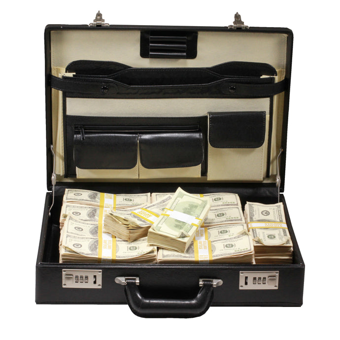 Series 2000 $500,000 Aged Full Print Briefcase