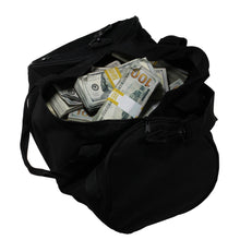 Load image into Gallery viewer, New Style $500,000 Aged Blank Filler Duffel Bag - Prop Movie Money