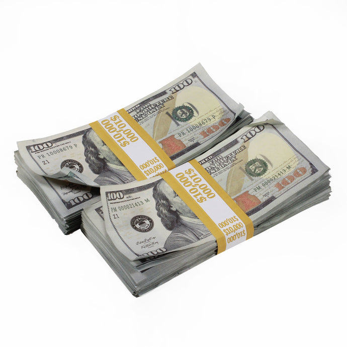New Style $100s Aged $20,000 Full Print Package