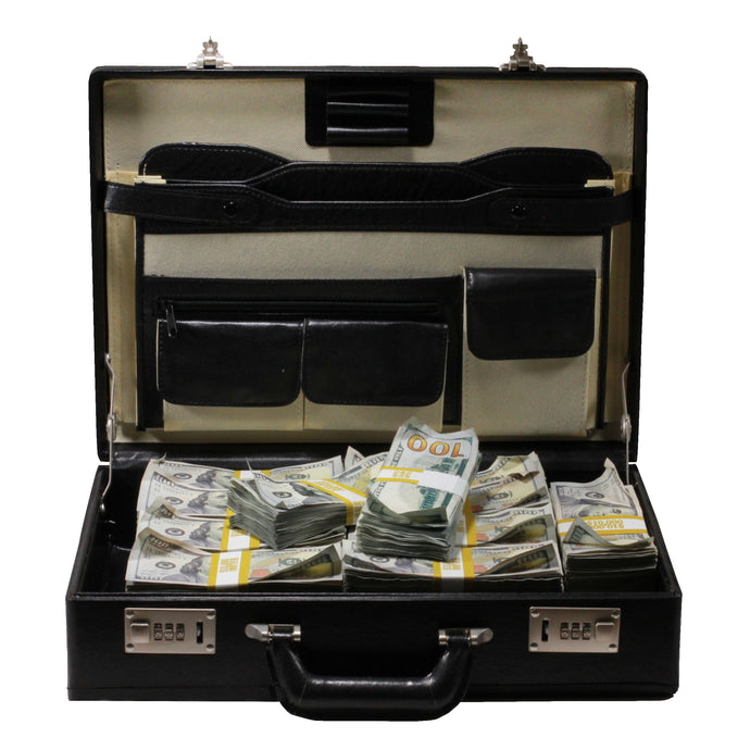 New Style $500,000 Aged Blank Filler Briefcase