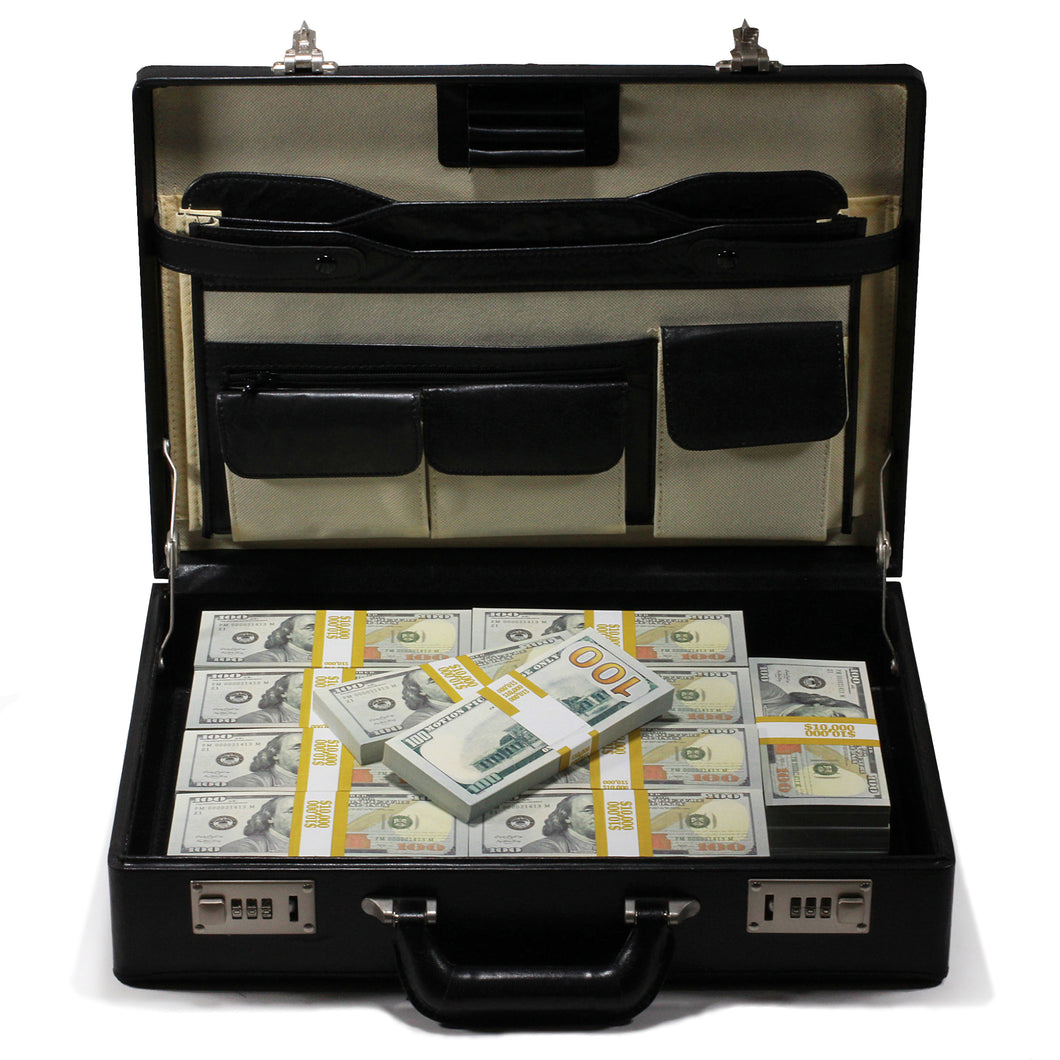 New Style $500,000 Full Print Briefcase