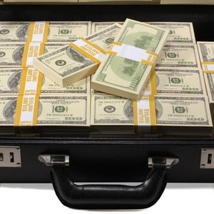 Series 2000 $500,000 Full Print Briefcase - Prop Money