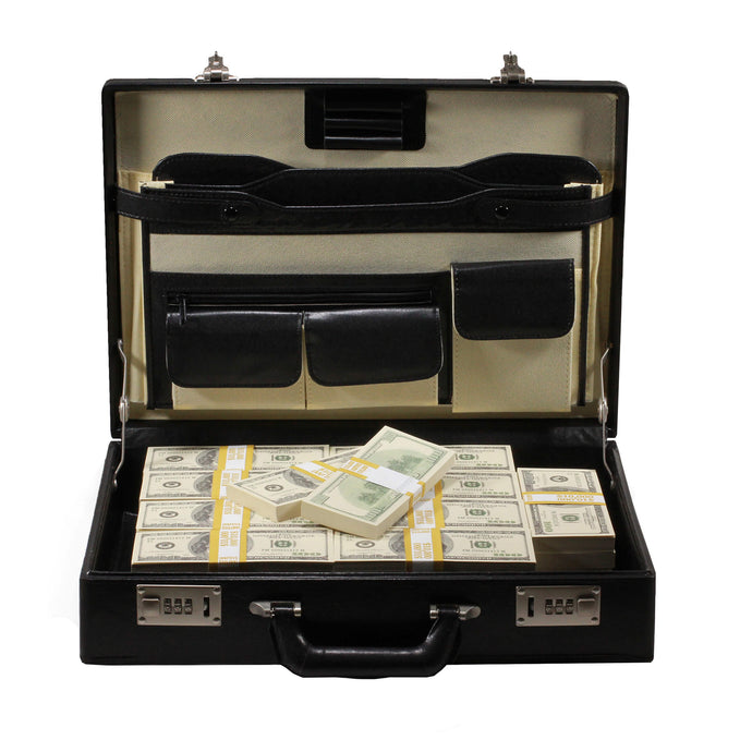 Series 2000 $500,000 Full Print Briefcase