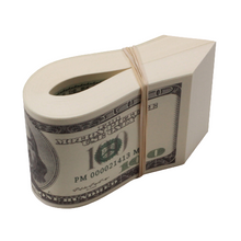 Load image into Gallery viewer, 2000 Series $10,000 Full Print Fat Fold - Prop Movie Money