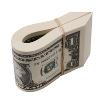 Load image into Gallery viewer, 2000 Series $100 Full Print Fat Fold - Prop Movie Money