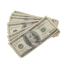 Load image into Gallery viewer, 2000 Series $50,000 Aged Full Print Prop Money Bundle - Prop Money