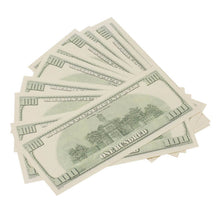 Load image into Gallery viewer, 2000 Series $100s $20,000 Full Print Prop Money Package - Prop Money