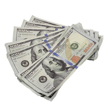 Load image into Gallery viewer, New Series $500,000 Aged Full Print Prop Money Bundle - Prop Money