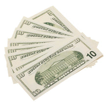 Load image into Gallery viewer, 2000 Series $10 Full Print Prop Money Stack - Prop Money