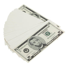 Load image into Gallery viewer, 2000 Series $5s Blank Filler $500 Prop Money Stack - Prop Money