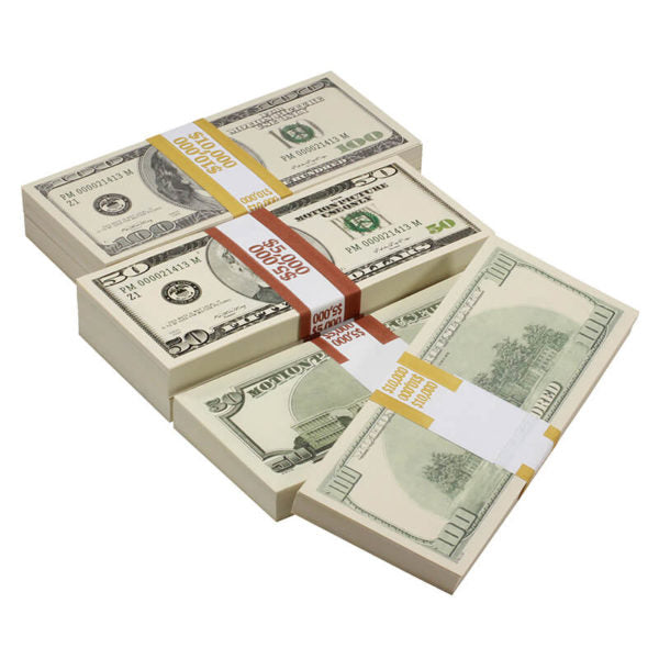 2000 Series Mix $45,000 Full Print Prop Money Bundle - Prop Money