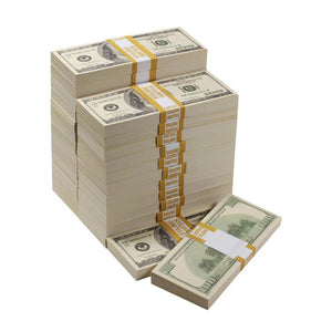 2000 Series $250,000 Full Print Prop Money Bundle - Prop Money