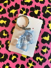 Load image into Gallery viewer, Unicorn head keyring