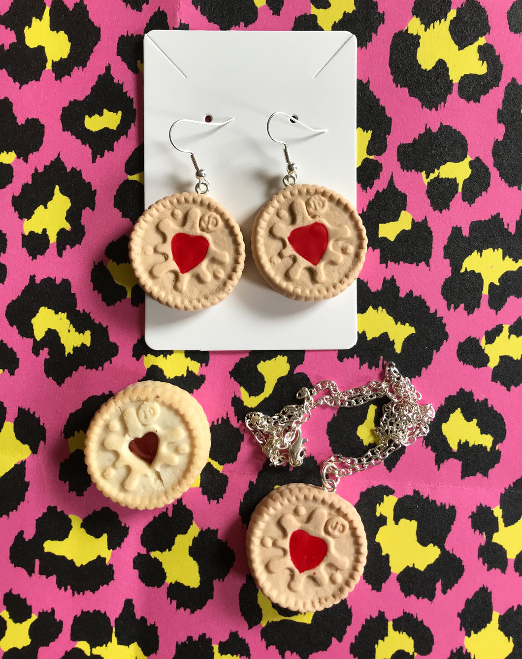 Jammie Dodger Necklace