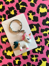 Load image into Gallery viewer, Unicorn Keyring