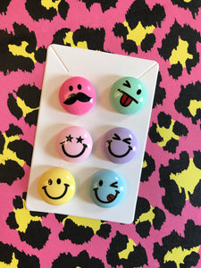 Smiley Face Brooch