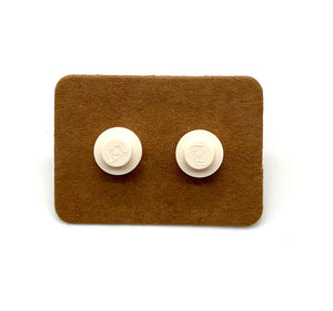 Lego Stud Earrings