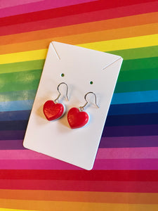 Haribo Heart Earrings