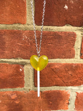 Load image into Gallery viewer, Heart ❤️ Lollipop Necklace