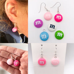 M and M Earrings